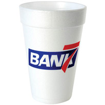 16 oz Custom Foam Cup