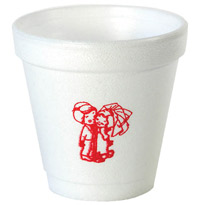 4 oz Personalized Foam Cup