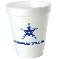 6 oz Promotional Foam Cup