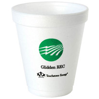 8 oz Imprinted Foam Cup